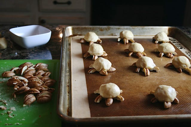 Snappy Turtle Cookies - Mom Loves Baking