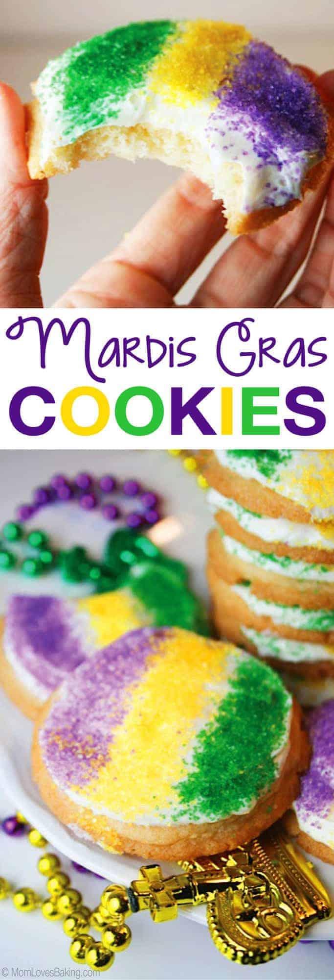 Easy Mardis Gras Cookies