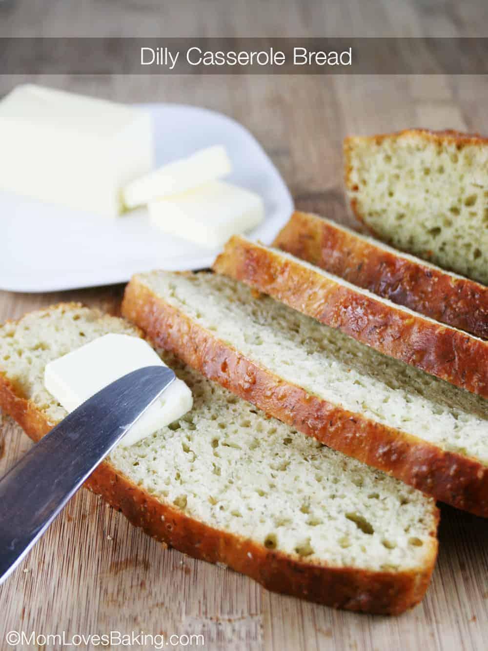 Breaderle Dilly Casserole Bread