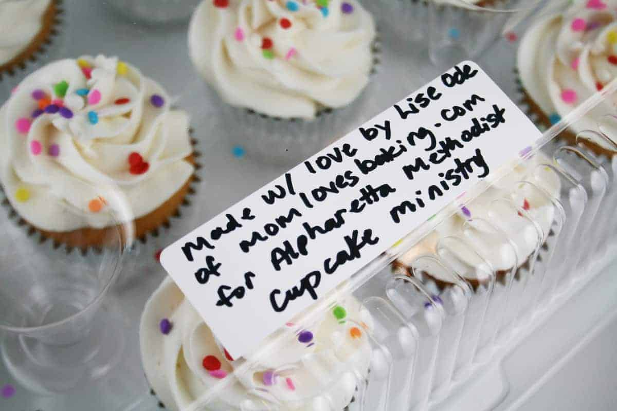 Cupcakes Baked With Love For The Atlanta Day Shelter