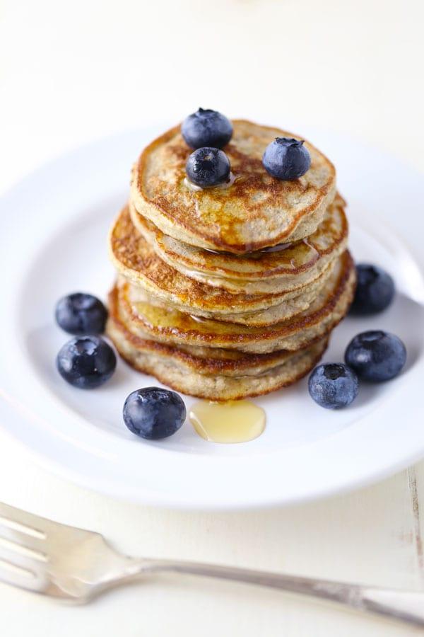 Paleo Silver Dollar Pancakes