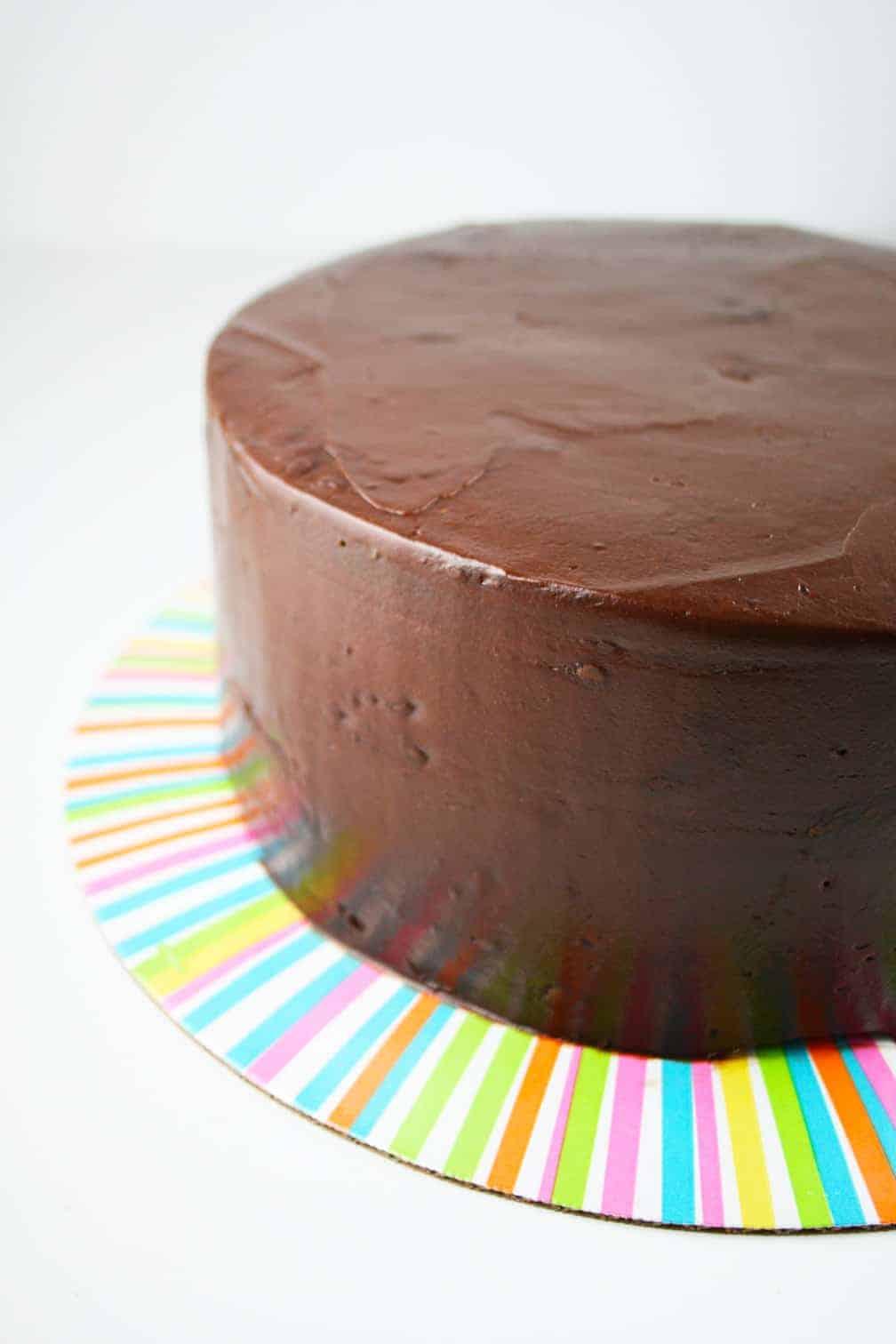 ChocolateFrostedCake