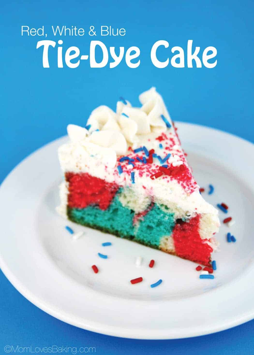 TieDyeCakeWithText