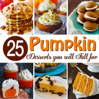 25 Perfect Pumpkin Desserts
