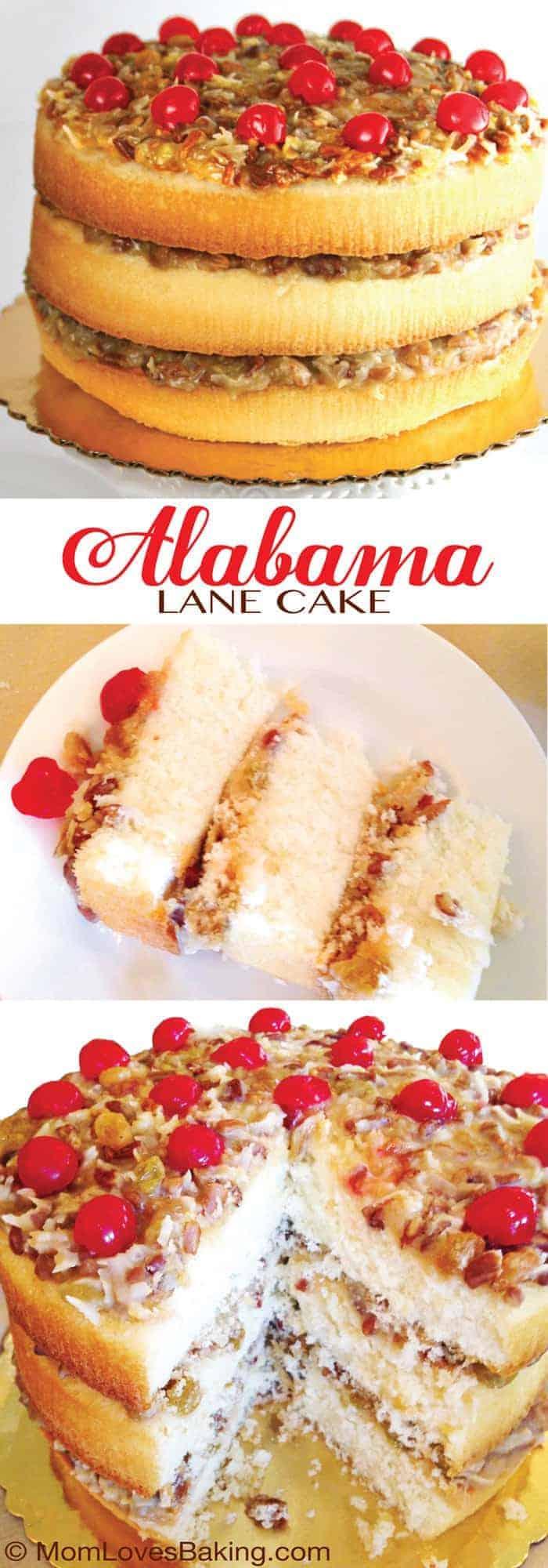 Alabama Christmas Lane Cake
