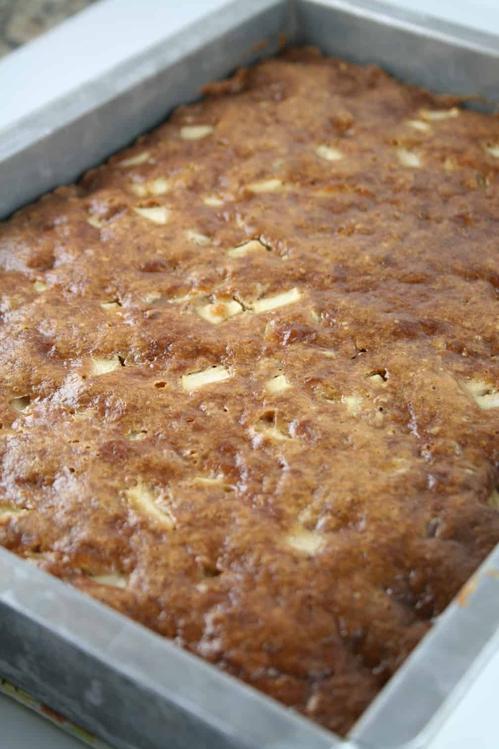 Fresh Apples And Cake Mix Recipe