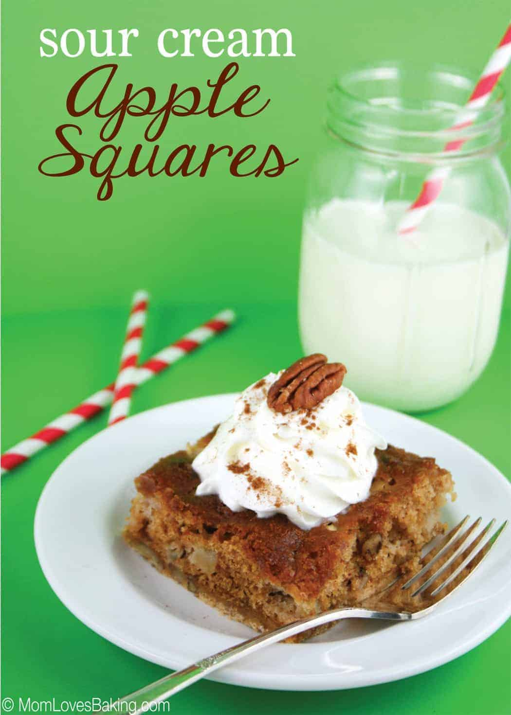 SourCreamAppleSquares