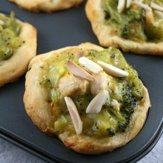 Mini Chicken Broccoli Pot Pies
