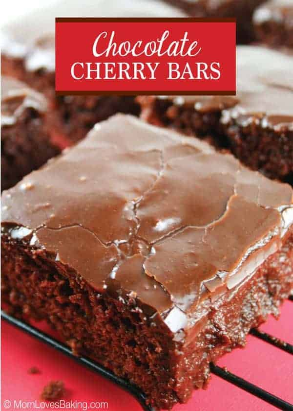 Chocolate Cherry Bars