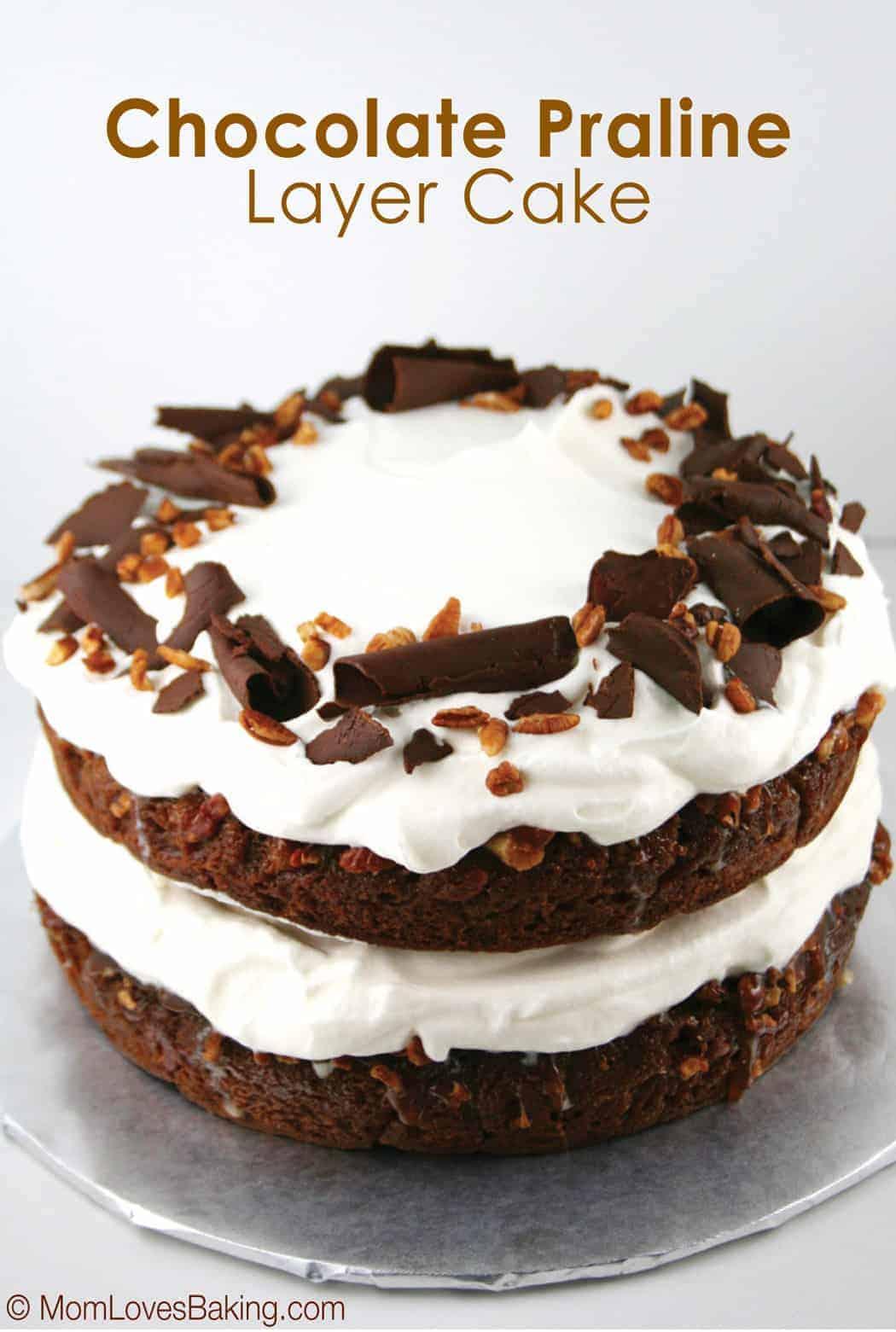 Southern Praline Layer Cake