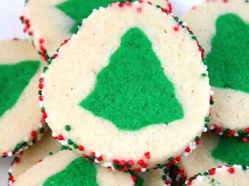slice n bake christmas tree cookies mom loves baking