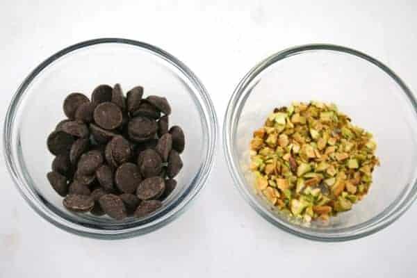 Chocolate-Pistachios