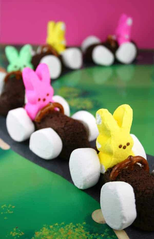 Chocolate Easter Bunny Race Cars Mom Loves Baking