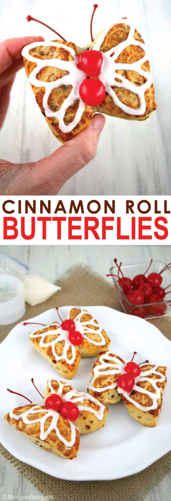 Cinnamon Roll Butterflies