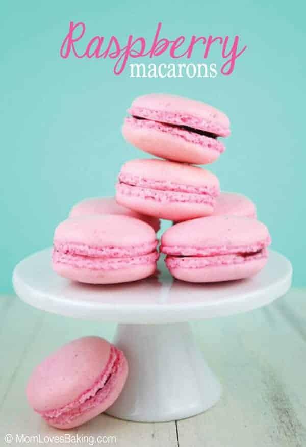 Raspberry-Macarons-8