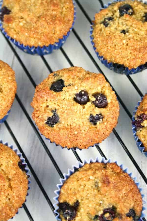 Orange Blueberry Gluten Free Muffins - Mom Loves Baking