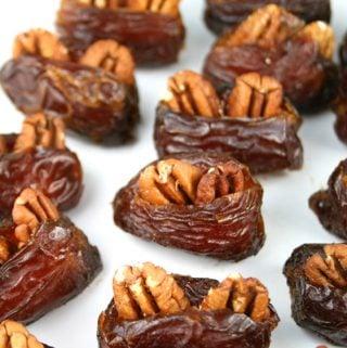 Pecan Stuffed Dates