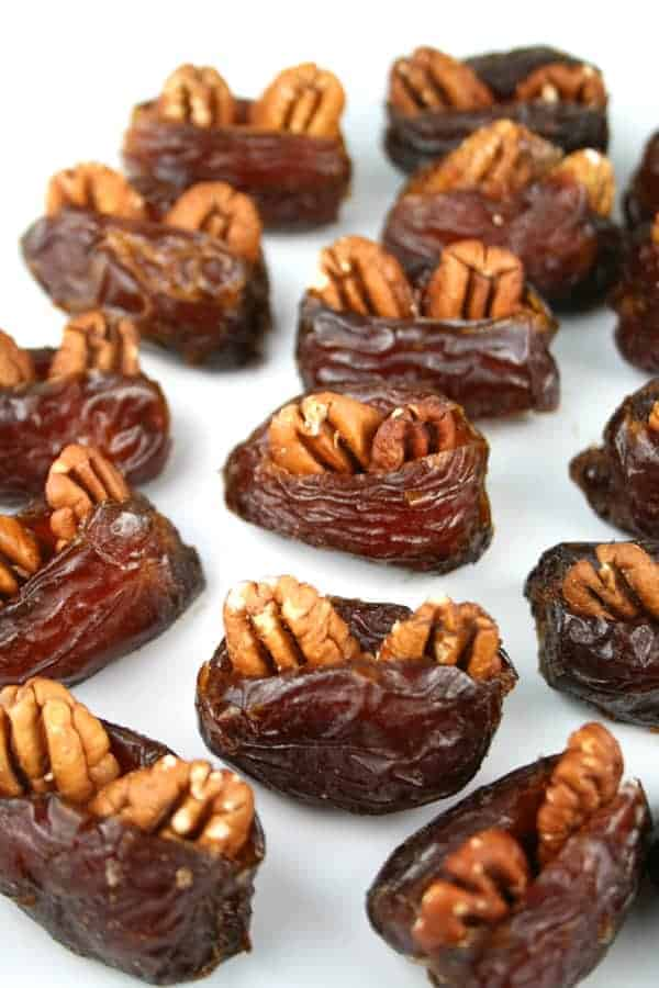Pecan Stuffed Dates - Bing images