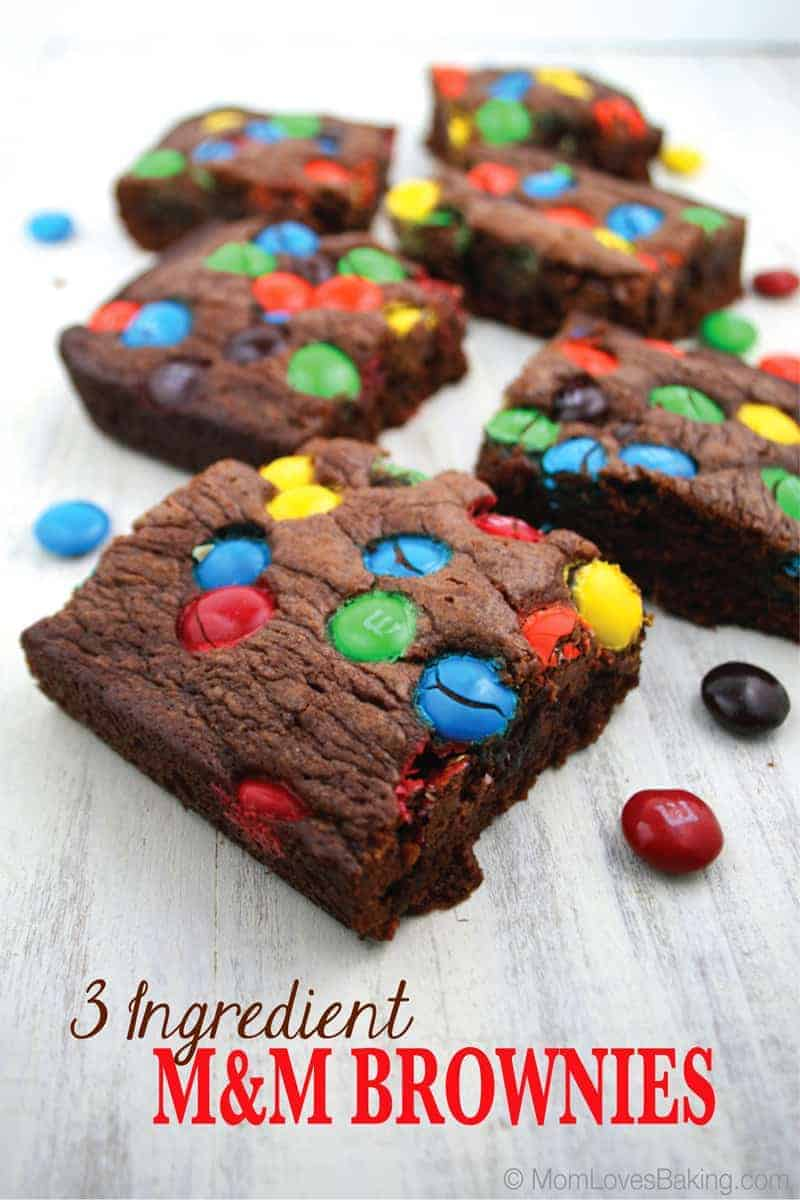 3-Ingredient-M&M-Brownies-2
