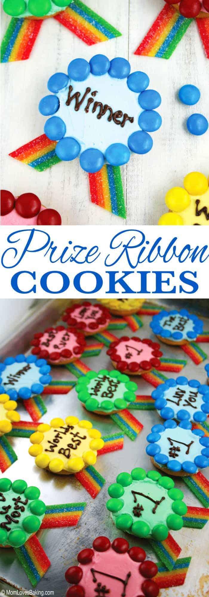 Prize Ribbon Cookies