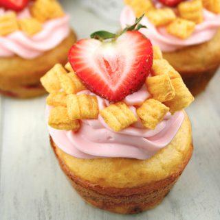 Cap'n Crunch Pancake Muffins