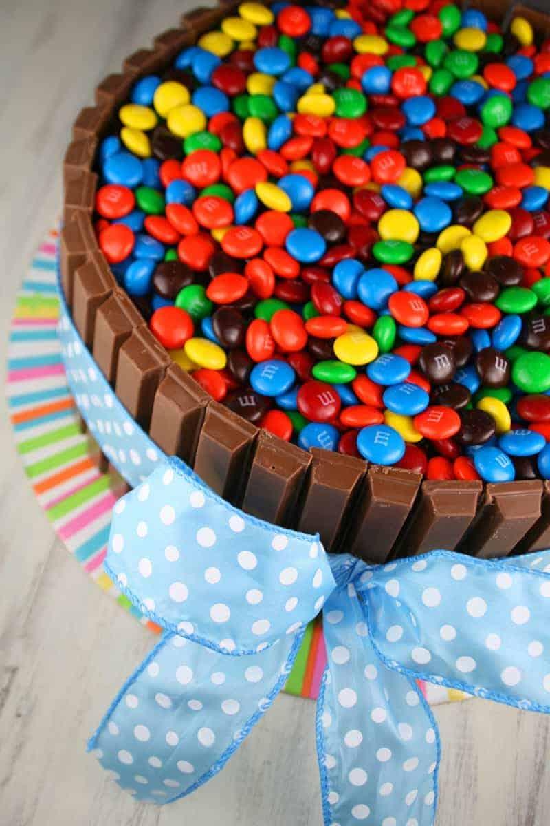 Kit Kat Cake Mom Loves Baking