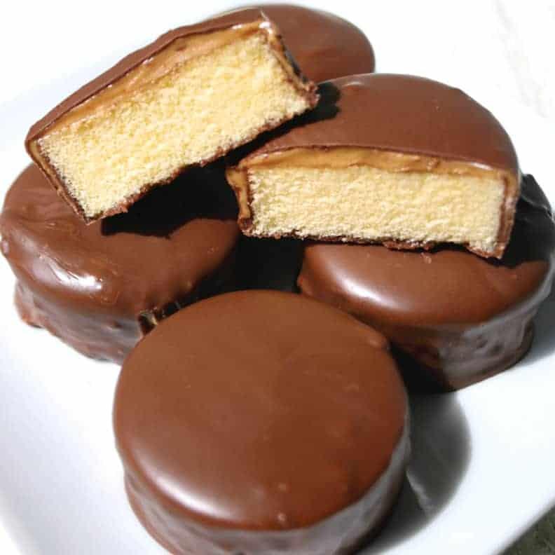 Tagalong Pound Cake Bites Mom Loves Baking