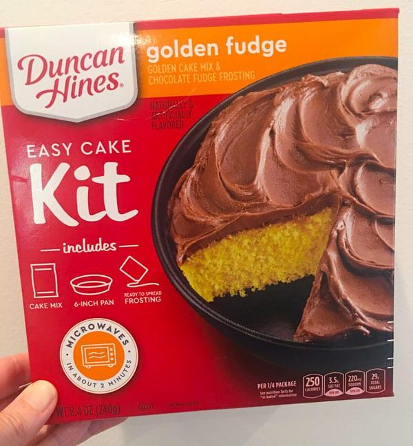 Duncan Hines Easy Cake Kit
