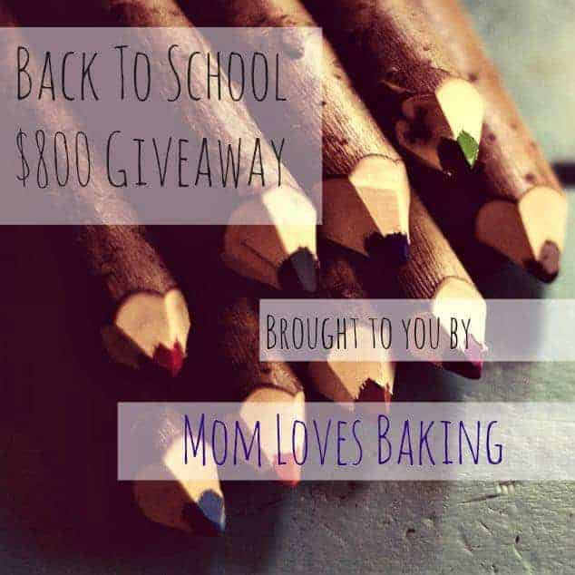 Back2School Mom Loves Baking