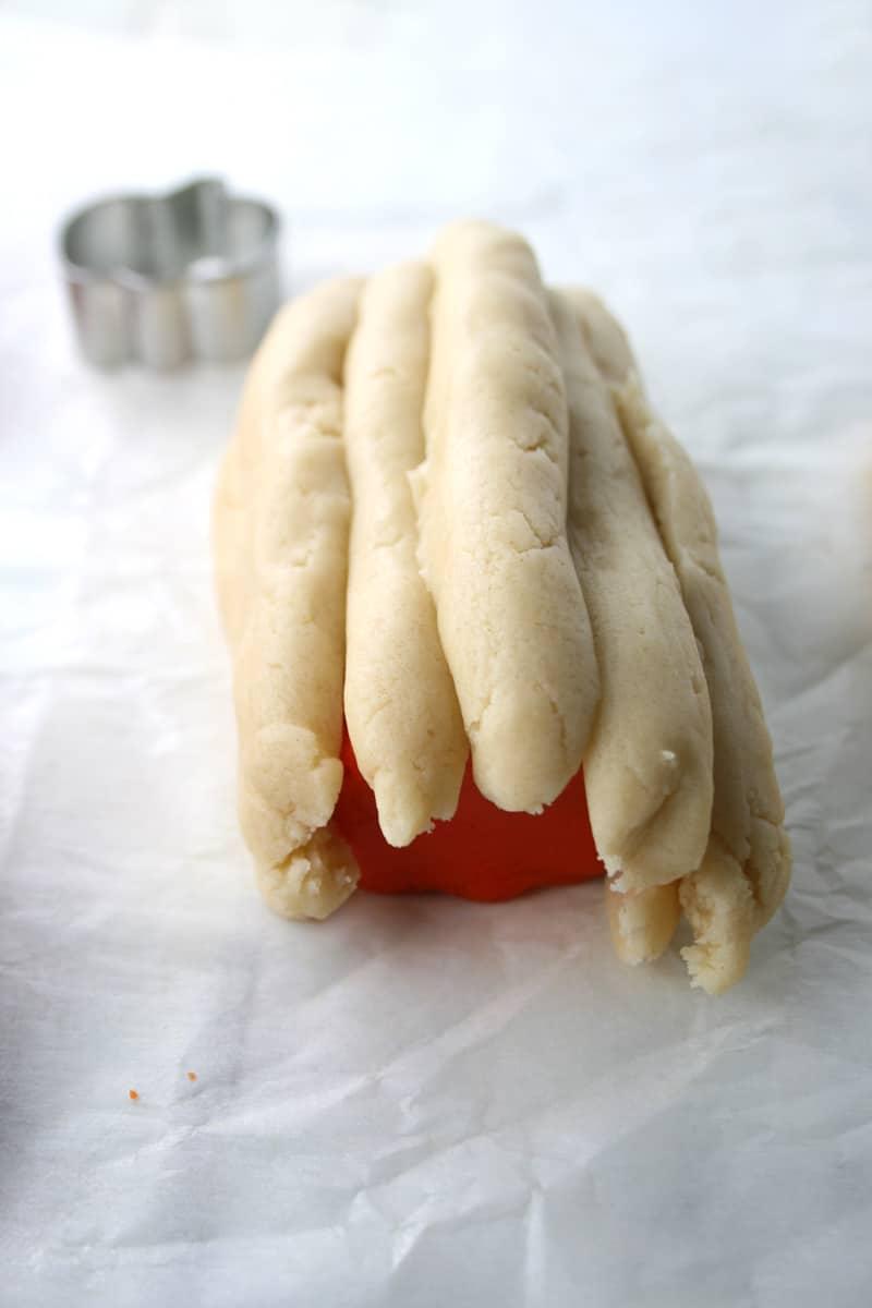 Dough-strips