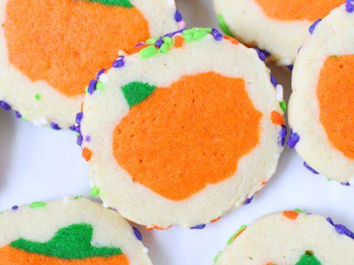 Slice N Bake Halloween Cookies