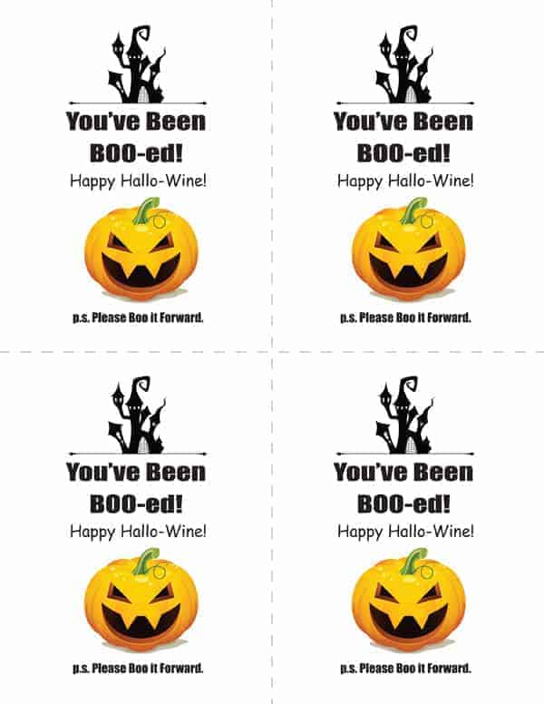graphic about You've Been Boozed Printable identify Intimidating Eyeball Cheese Cookies + Do-it-yourself Youve Been BOO-ed