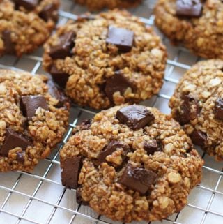 Oatmeal Chocolate Chunk Breakfast Cookies
