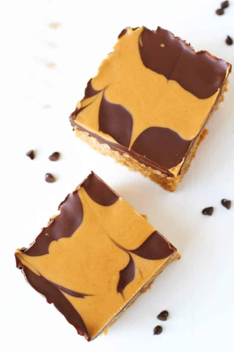 Honey Peanut Butter Cereal Bars