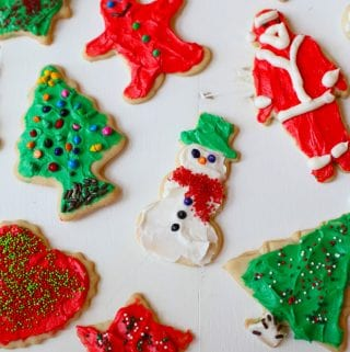 Best ever Christmas cut out sugar cookies