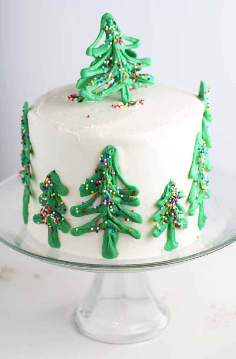 Christmas Tree Cakes