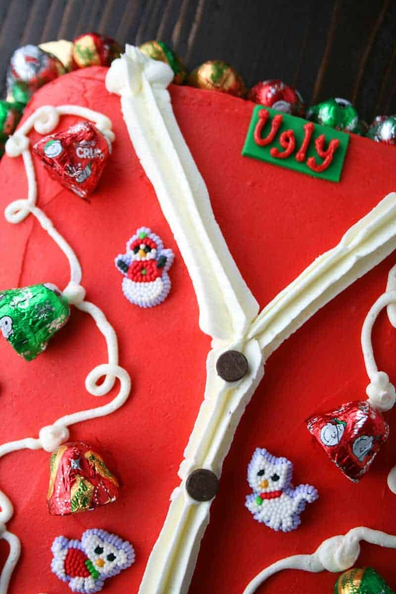 Ugly Sweater Cake Mom Loves Baking