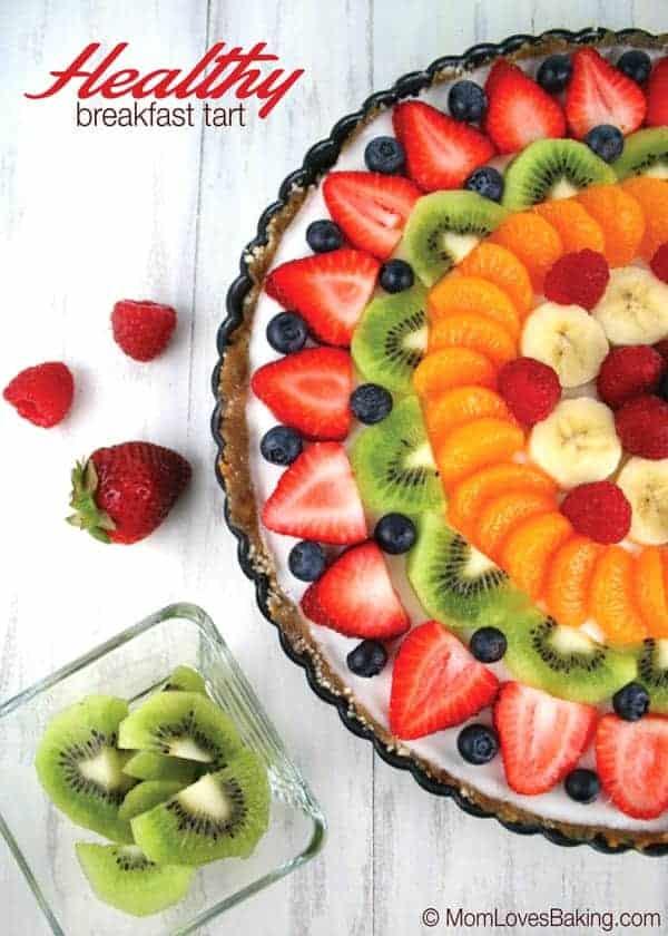 Healthy Breakfast Tart