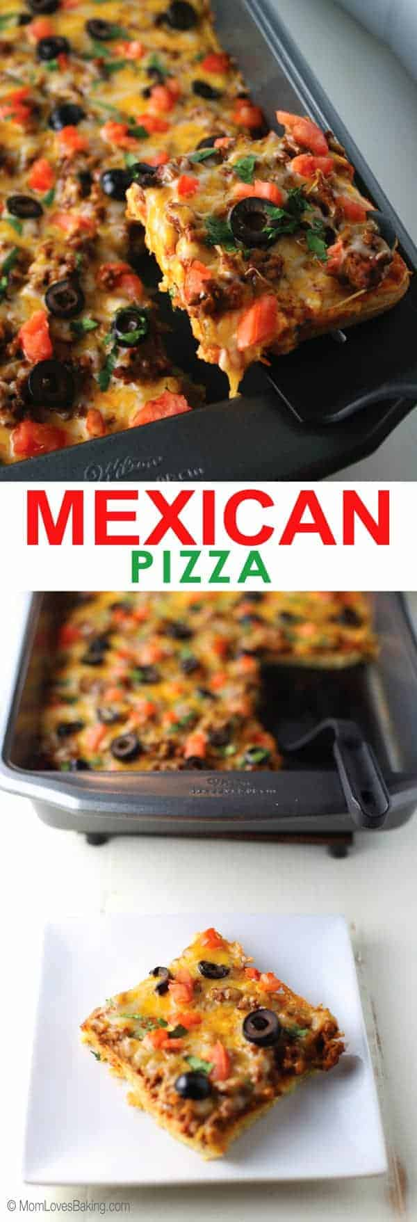 Low Carb Mexican Pizza