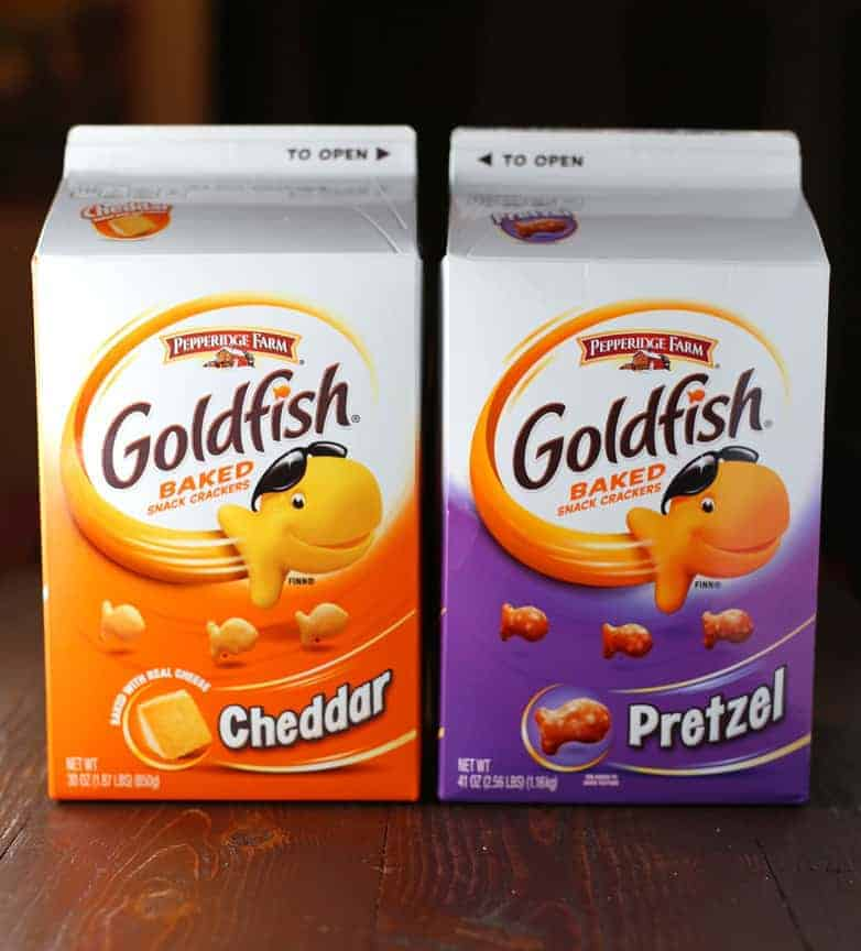 Chocolate Covered Goldfish Pretzels