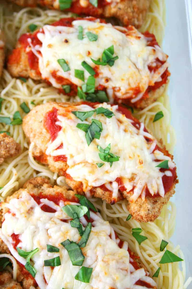 Easy Chicken Parm
