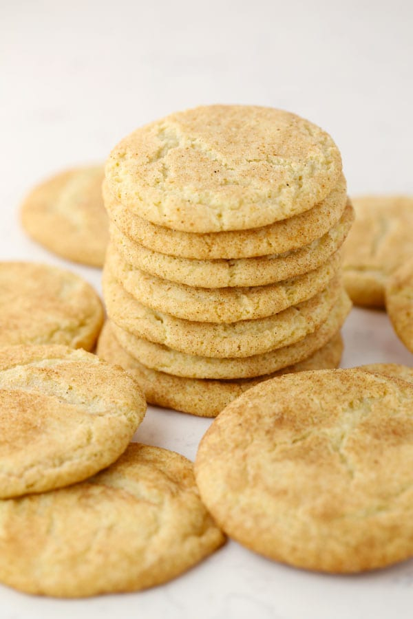 Gluten Free snickerdoodle cinnamon cookies