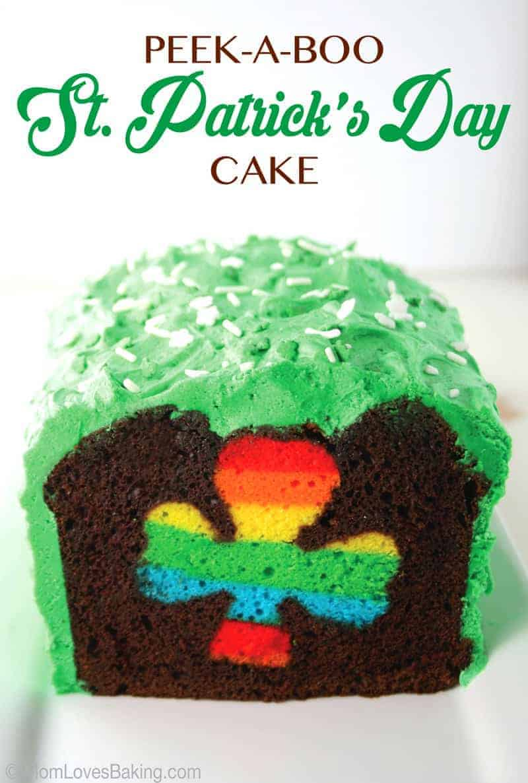 Peek-A-Boo St. Patrick's Day Cake