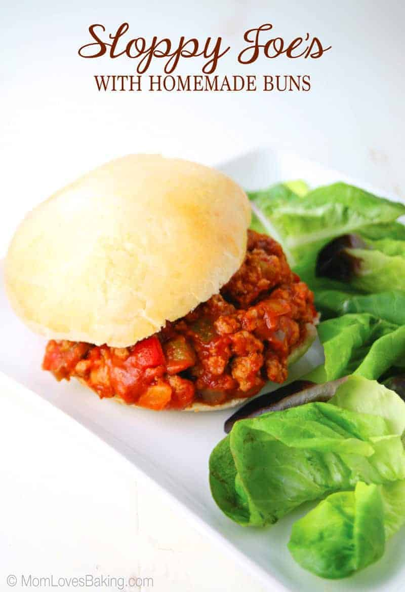 Sloppy Joe's with Homemade Buns