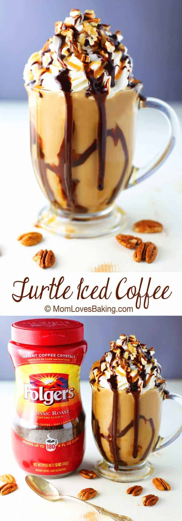 Turtle Iced Coffee