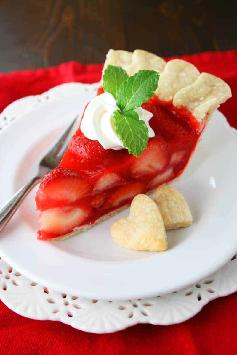 Sugar Free Strawberry Pie