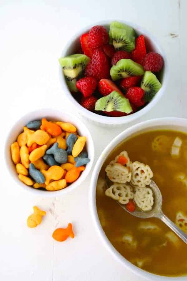 Soup, Crackers & Kids Craft