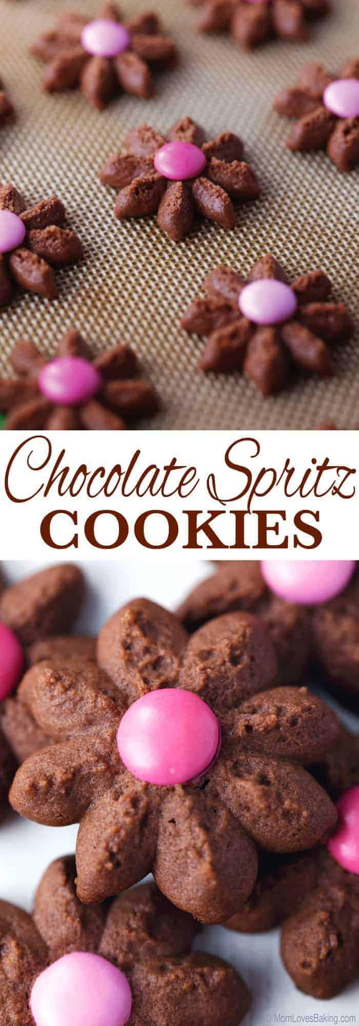 chocolate spritz cookies - photo #31