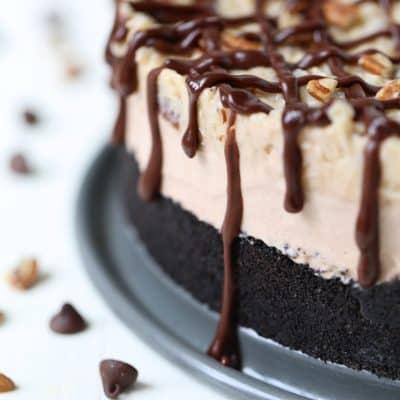 German Chocolate Ice Cream Cake