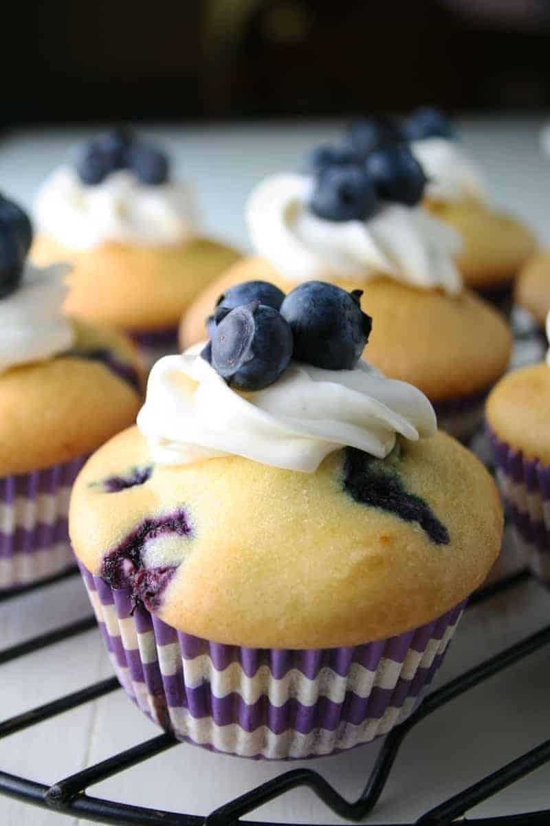 Betty Crocker Cake Mix Blueberry Muffins